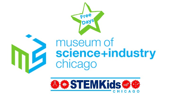free days at Chicago's Museum of Science and Industry for Illinois residents.