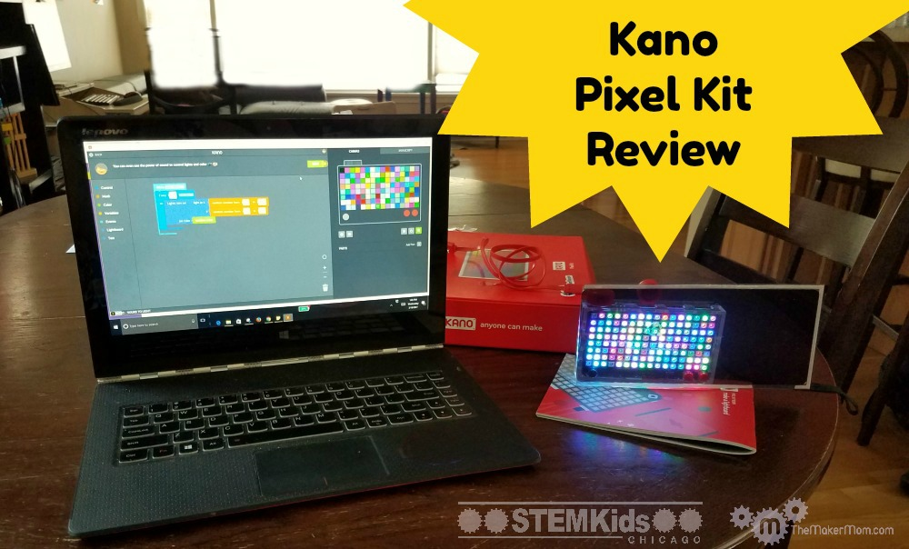 Learn to code with the Kano Pixel Kit