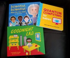 STEM, science and technology books for young kids
