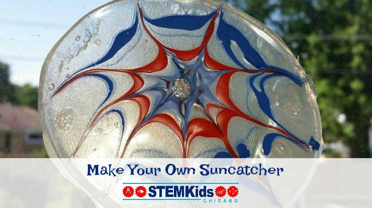 Make an easy DIY suncatcher and window cling!