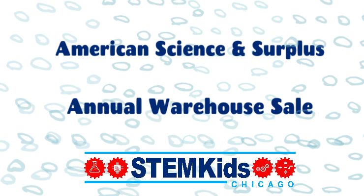American Science and Surplus Warehouse Sale