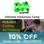 STEM Camp discount code for Digital Adventures